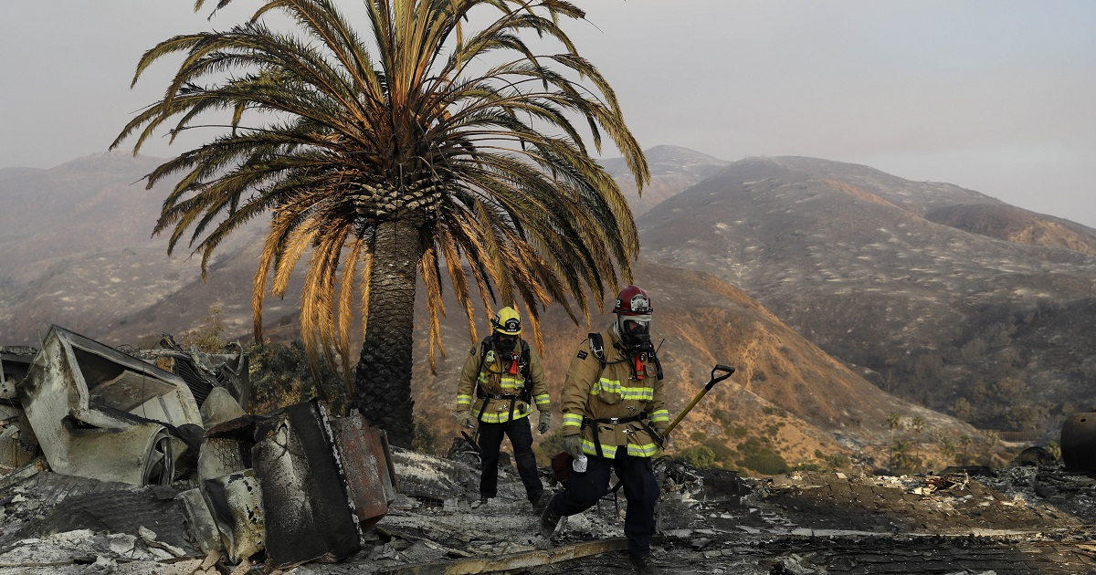 My evacuation from the California wildfires gave my climate work new urgency