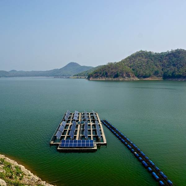 Floating Solar Panels Are A Perfect Fit For Drought