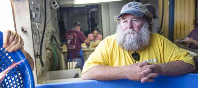 Gulf of Mexico fisherman Buddy Guindon